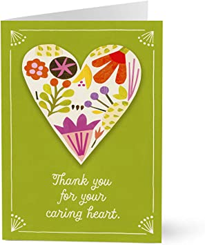 Hallmark Business Nurses Week Card for Healthcare Staff (Your Caring Heart) (Pack of 100 Greeting Cards)