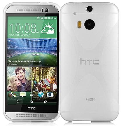 Amazon.com: HTC One M8 (2. Gen.) Ultra Slim TPU Funda de ...