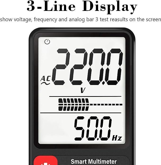 BSIDE ADMS9 Universal Digital LCD Multimeter Meter Voltmeter Ammeter Ohm Tester