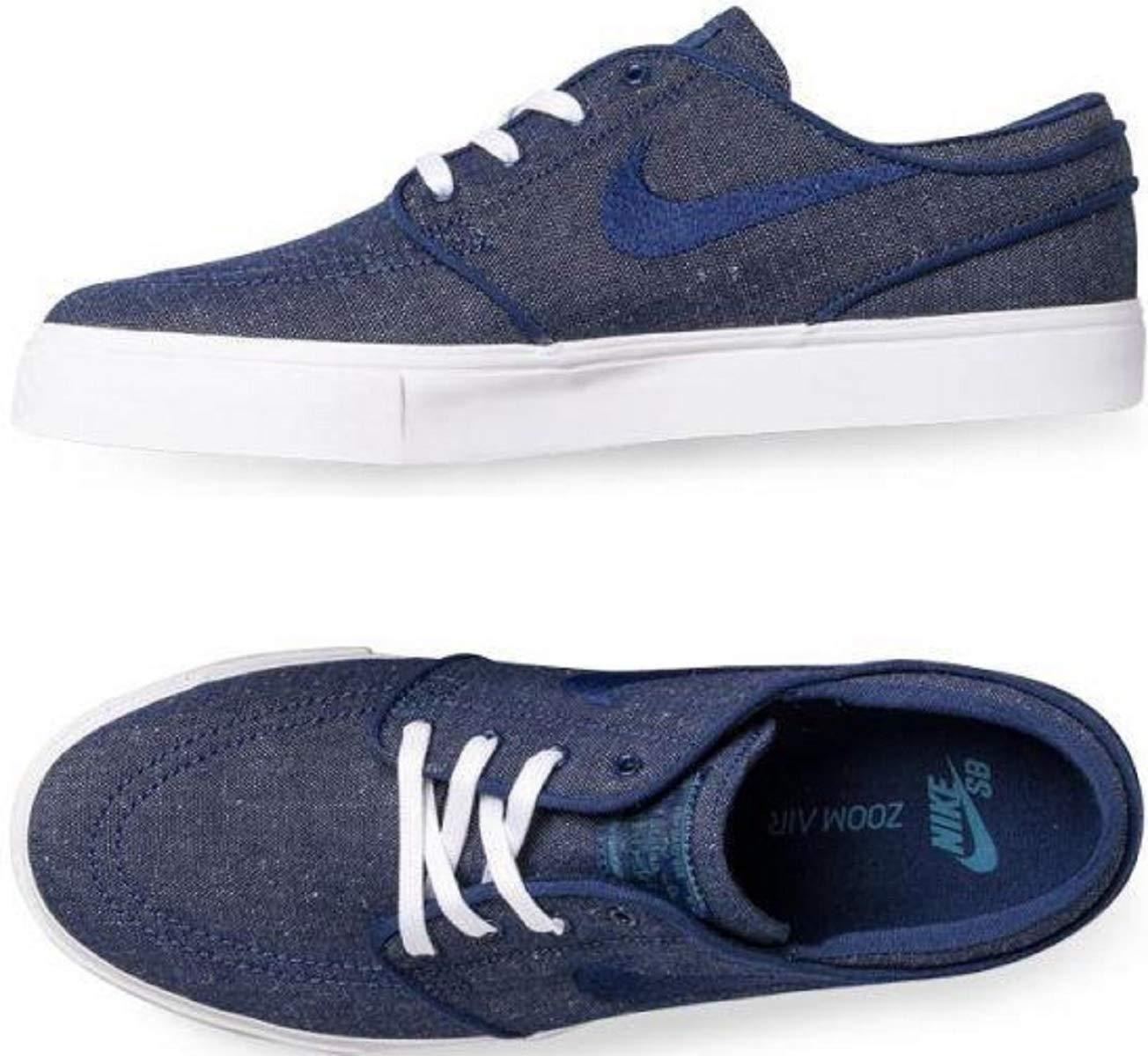 sneakers for cheap d94b3 f73c4 Galleon - NIKE Men s Zoom Stefan Janoski CNVS Blue Void Blue Void Red Crush  Skate Shoe 9.5 Men US