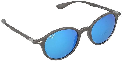 Amazon.com: Ray-Ban 0rb4237 Ronda anteojos de sol, Gris ...