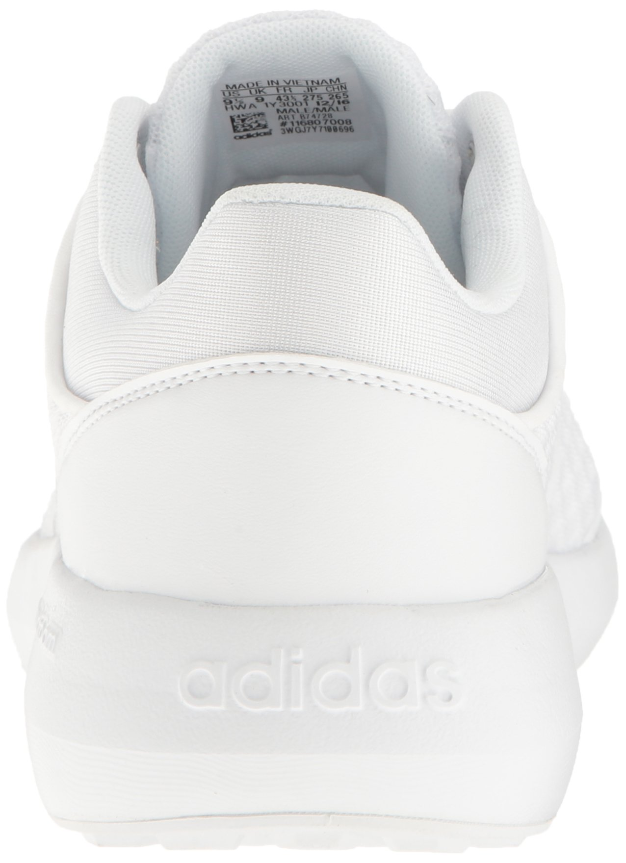 adidas Men's Cloudfoam Race Running Shoe, White/Clear Onix, 9 D-Medium by adidas (Image #2)
