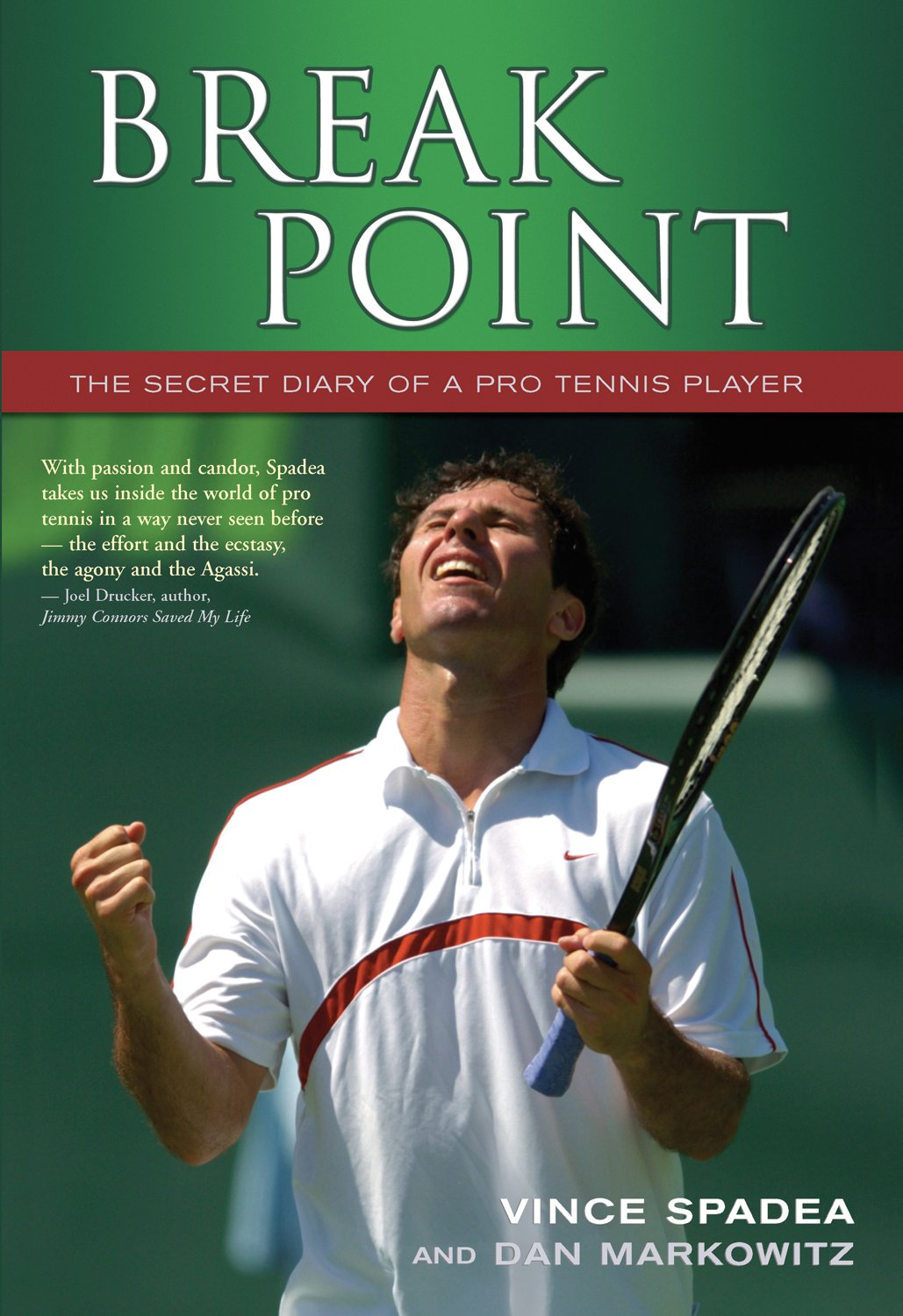 Break Point! The Secret Diary of a  Pro Tennis Player by Brand: ECW Press