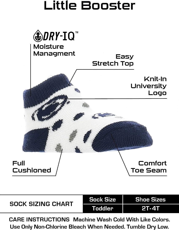 TCK Penn State Nittany Lions Toddler Socks Low Cut Little Fan