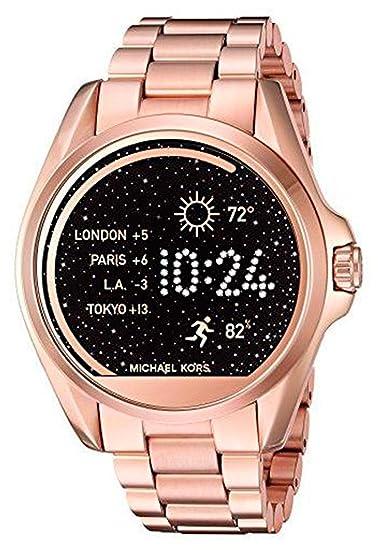 Michael Kors Access Bradshaw - Reloj Inteligente (Pantalla táctil, 45 mm), Color Dorado