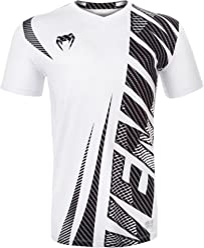 Venum Men's Galactic 2.0 Carbon Dry Tech Tee Shirt White