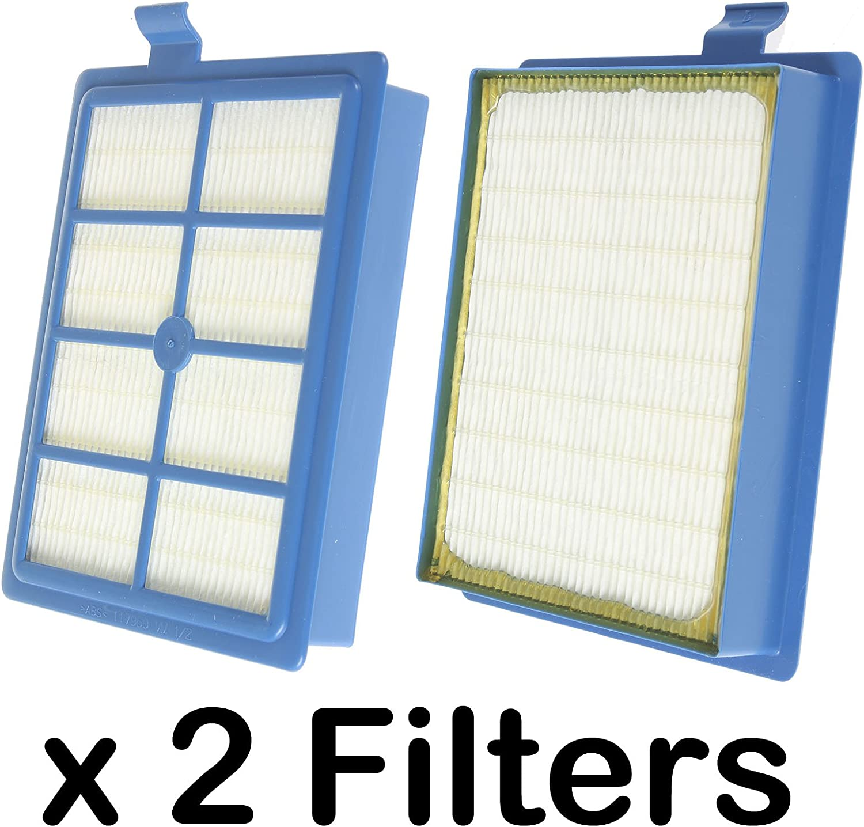 Spares2go EFH12 W tipo filtro Hepa para Electrolux Ergospace Clario, Excellio oxígeno Airmax – Aspiradora (Pack de 2): Amazon.es: Hogar