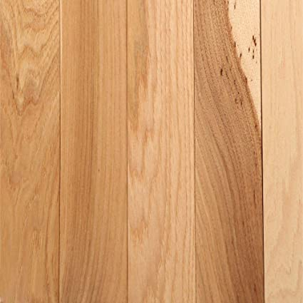 Hickory Country Natural 34 In Thick X 2 14 In Width X Random