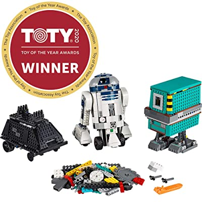 LEGO Star Wars Boost Droid Commander 75253 Star Wars Droid Building Set with R2 D2 Robot Toy for Kids to Learn to Code (1,177 Pieces): Toys & Games