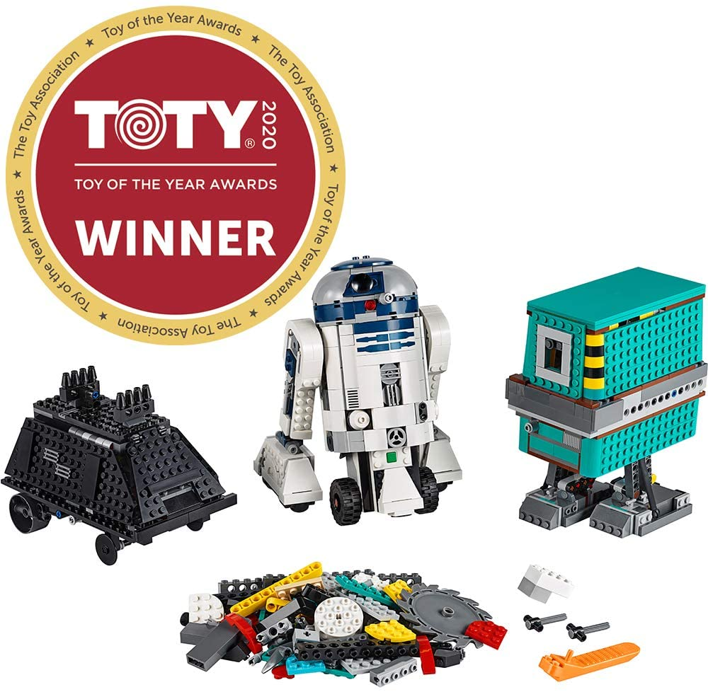 LEGO Star Wars Boost Droid Commander 75253 Star Wars Droid Building Set with R2 D2 Robot Toy for Kids to Learn to Code (1,177 Pieces)