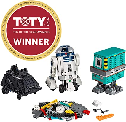 Amazon Com Lego Star Wars Boost Droid Commander 75253 Learn To Code Educational Tech Toy For Kids Fun Coding Stem Set With R2 D2 Buildable Robot Toy 1 177 Pieces Toys Games
