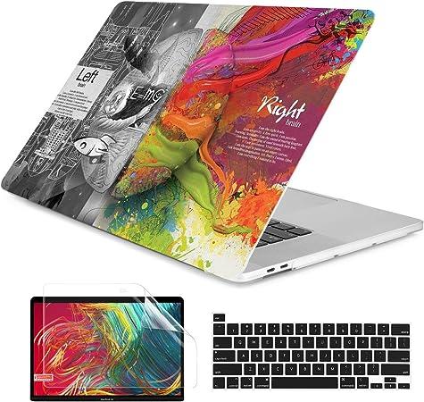 ACJYX H/ülle Kompatibel mit MacBook Pro 16 Zoll 2020 2019 Release A2141 mit Touch Bar Plastik Laptop Schutzh/ülle Hartschale Case Cover f/ür MacBook Pro 16 Bunte Linien