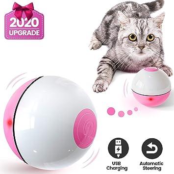 Iokheira Bola de Gato, Juguetes para Gatos,Carga USB Juguete Gato ...