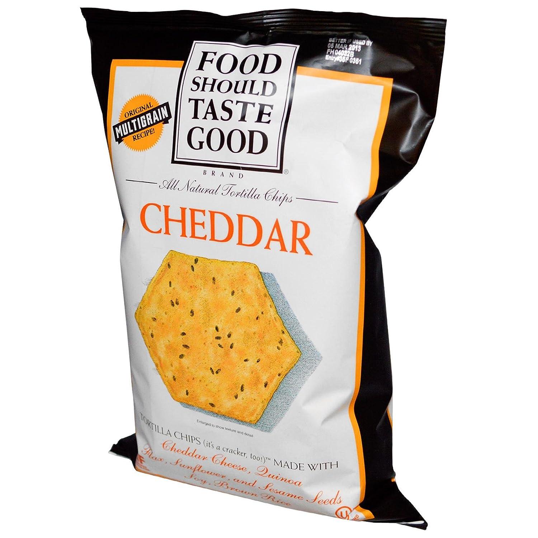 Food Should Taste Good Chip Tortla Chdr Gf