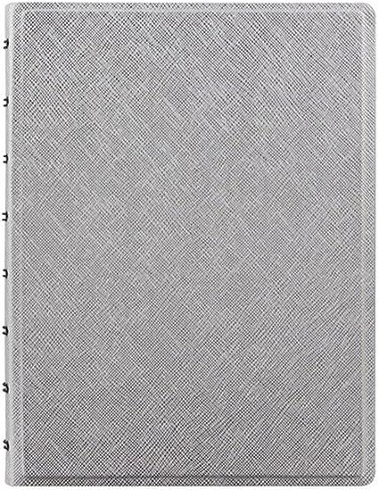Filofax A5/Carnet en cuir Saffiano rechargeable/ /Noir