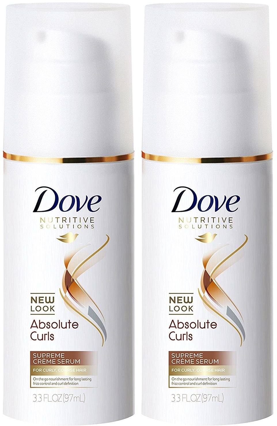 Dove Advanced Hair Series Quench Absolute Supreme Creme Serum 3.30 oz (Pack of 2)