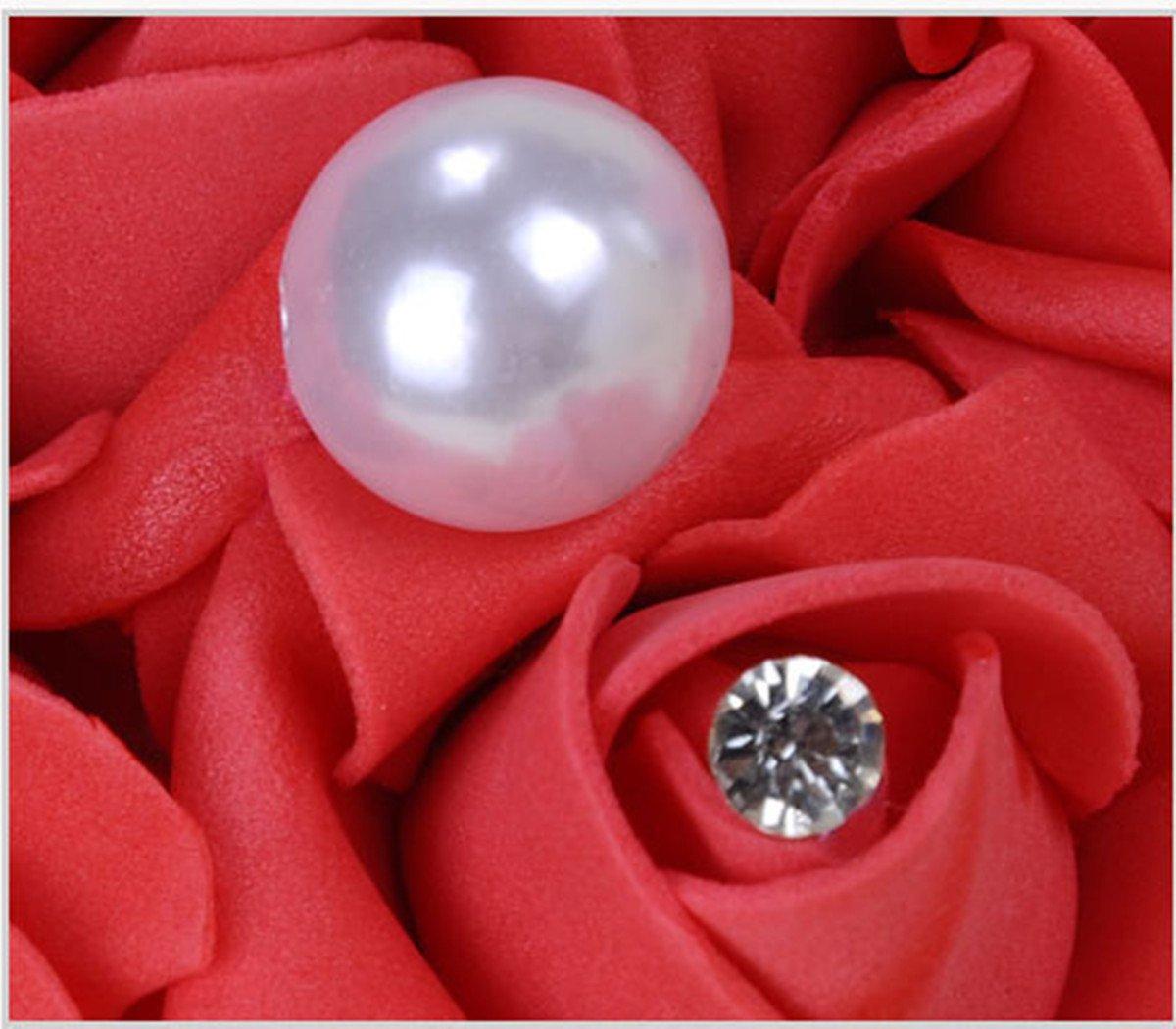 Mystery/&Melody Bo/îte /à Bijoux en Forme de Coussin de bo/îte /à Bijoux en Forme de Coussin Rose