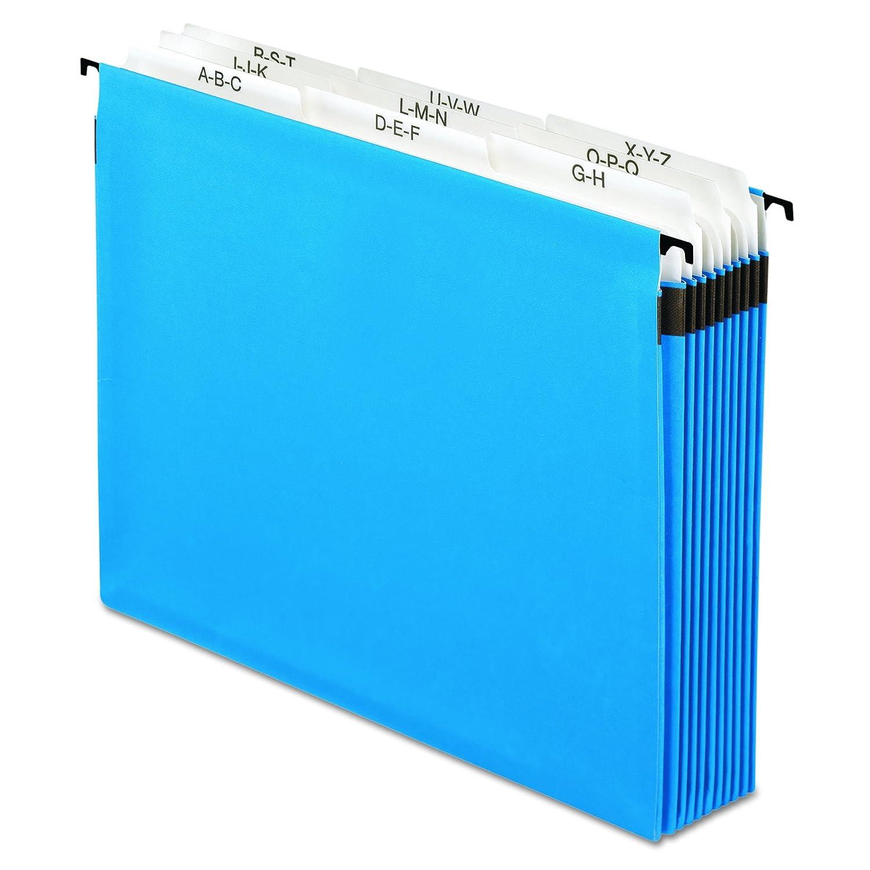 Pendaflex Surehook Reinforced Expandable Hanging Files, Letter size, Blue (59225) Esselte Corporation