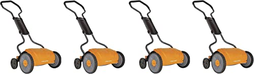 Fiskars 17 inch Staysharp Push Reel Lawn Mower 6208 Pack of 4