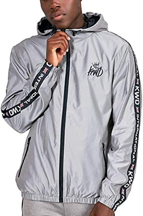 Kings Will Dream Forberg Jacket Reflective Silver: Amazon co