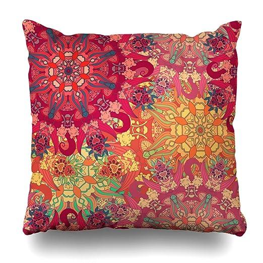 KJONG Vintage Elementos Mandala Isabel árabe indio diseño ...