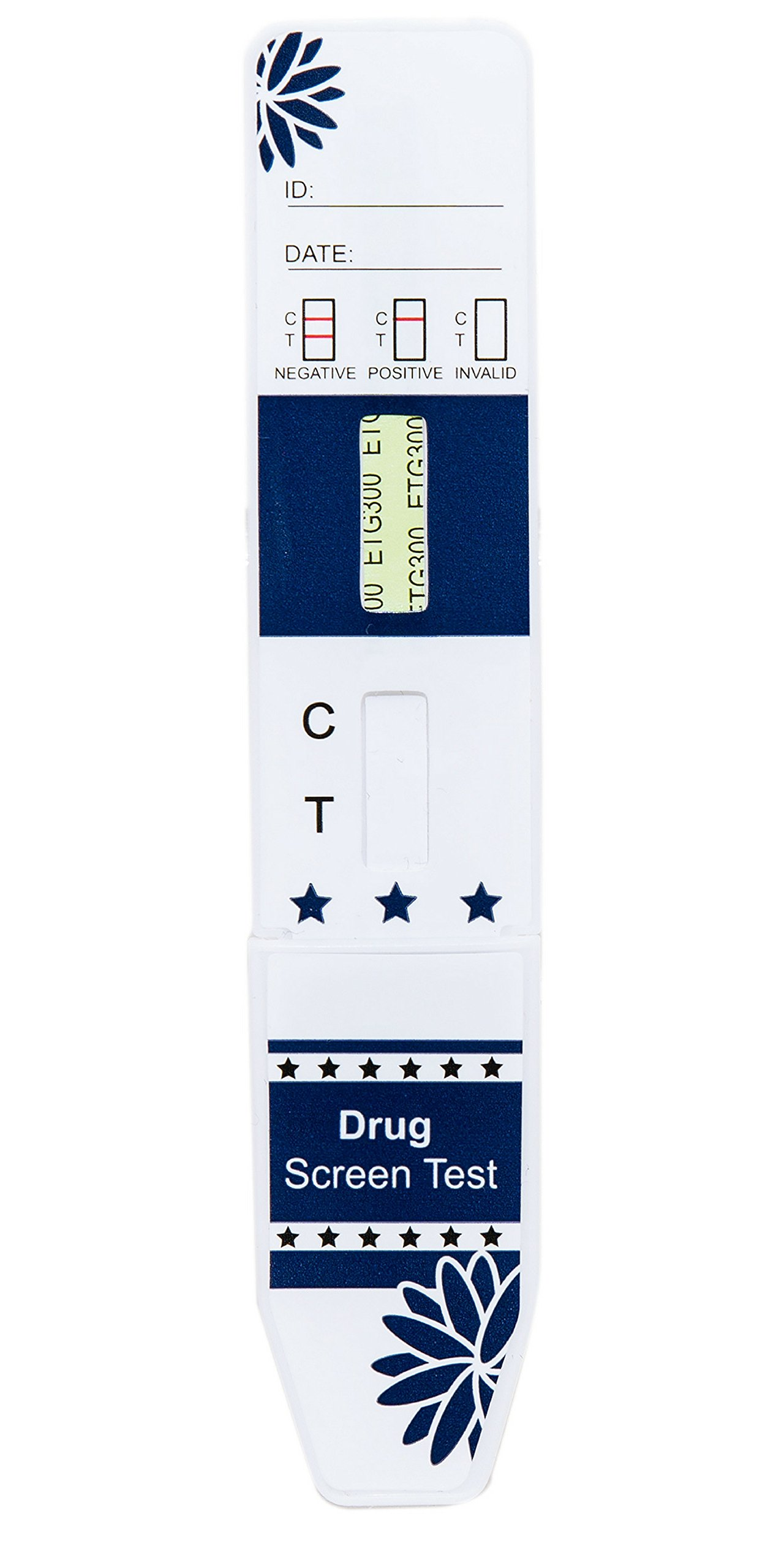 DrugConfirm EtG Alcohol Urine Test Dip Card Tests 80 Hours Back 300 ng/mL (25 Pack) by DrugConfirm