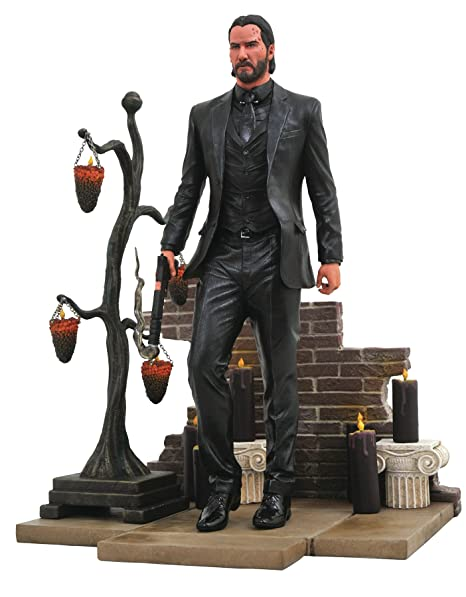 Amazoncom Diamond Select Toys Gallery John Wick 2 Pvc Figure