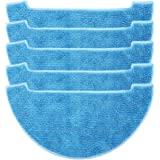Electropan Accessories Parts 5 pcs Microfiber Mop Cloth Replacement for ILIFE V8s Robotic Mop & Vacuum Cleaner
