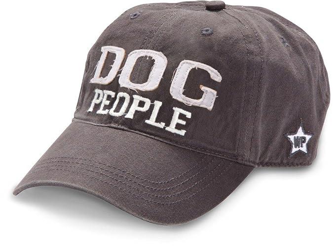 3cdeccfa461 Amazon.com  WE People Dog People Baseball Cap Adjustable Strap Unisex One  Size Fits All Preshrunk Dark Gray  Sports   Outdoors