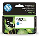 Original HP 962XL Cyan High-yield Ink Cartridge   Works with HP OfficeJet 9010 Series, HP OfficeJet Pro 9010, 9020 Series   E