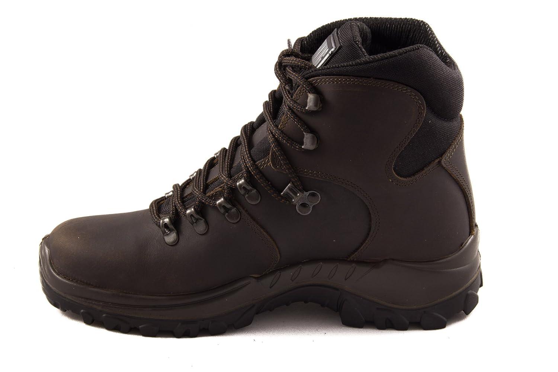 Grisport 10303 - Dakar v.69 hombre y para mujer (para el exterior) & botas de escalada unisex, marrón oscuro, eu 39