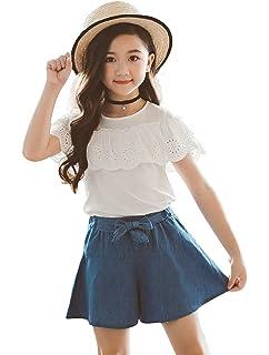13377e7b23161 (コーラルウェー)Coral Way セットアップ 女の子 子供 ガウチョパンツ Tシャツ+ワイドパンツ