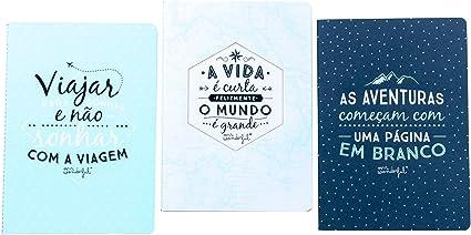 Mr. Wonderful WOA02516 - Pack de 3 libretas: Amazon.es: Oficina y papelería