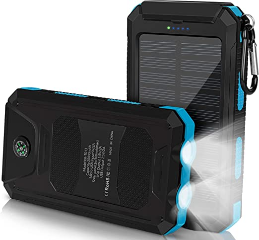 Solar Charger,10W 5V Foldable Portable Outdoor USB Solar Panel ...