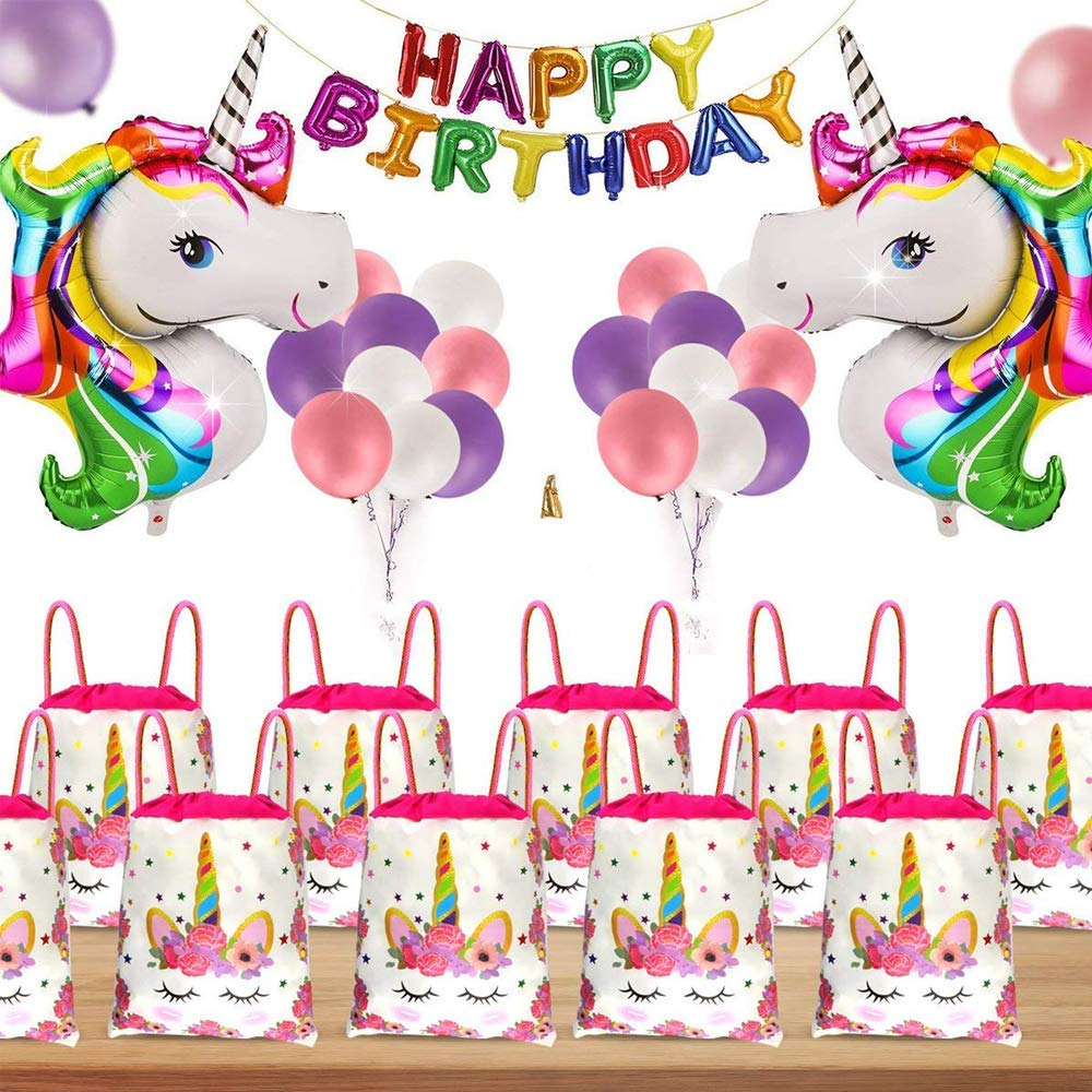 bomboniere portagioie Sacchetti Regalo di Iuta per Gioielli Unicorno C Modello Sacchetti Regalo SIMUER Sacchetti Regalo Regali incantevoli