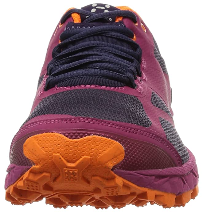 Haglöfs Gram XC II, Scarpe da Trail Running Donna, Rosa (Volcanic rosa/Acai Berry), 36.6666666666667 EU