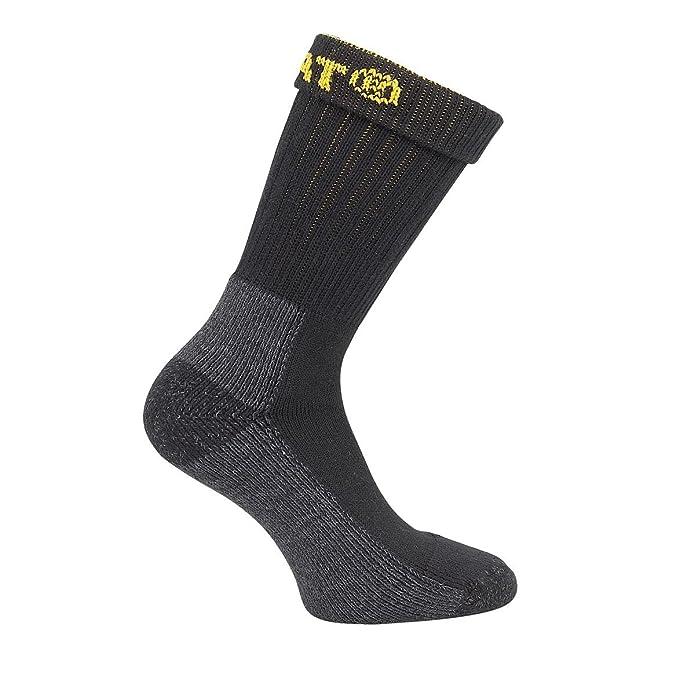 Caterpillar - Calcetines para trabajar industrial o invierno para hombre/caballero - Pack de 2 pares de calcetines: Amazon.es: Ropa y accesorios
