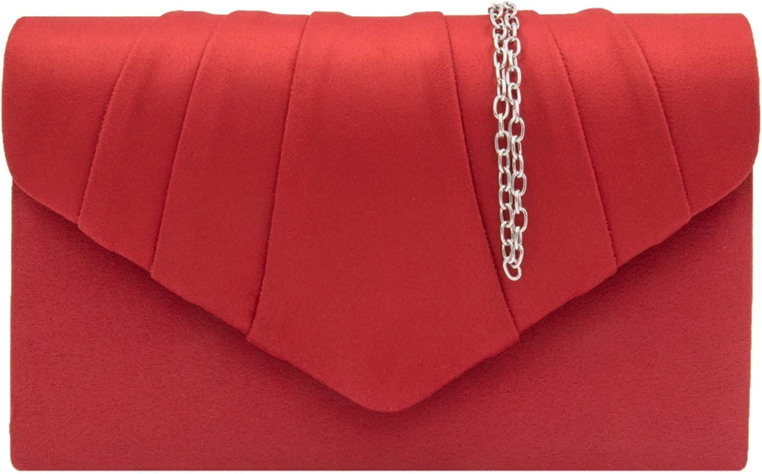 Women Suede Envelope Bag...