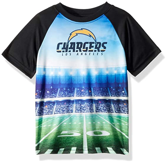 551d834a Amazon.com : NFL Los Angeles Chargers Male Short sleeve Stadium Tee ...