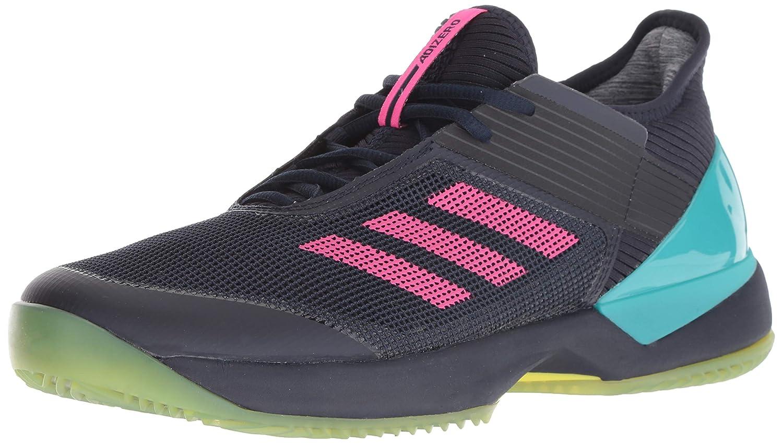 pretty nice 14798 3c895 Amazon.com  adidas Womens Adizero Ubersonic 3 Clay Tennis Shoe, Legend  InkShock Pinkhi-res Aqua, 11 M US  Tennis  Racquet Sports