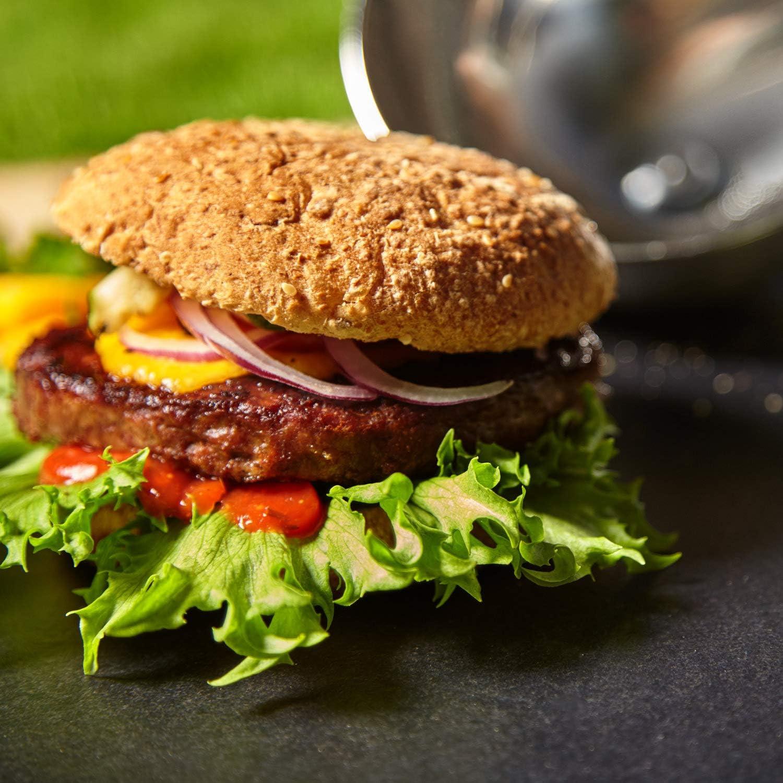 Burgerglocke cloche Burger cloche Capot Hamburger Capot cheeseburger Thermomètre