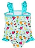 beautyin Infants one Piece Swimwear Ruffle Bathing
