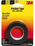 3M 3407NA Friction Tape, 0.708-Inch x 240-Inch, 2-PACK