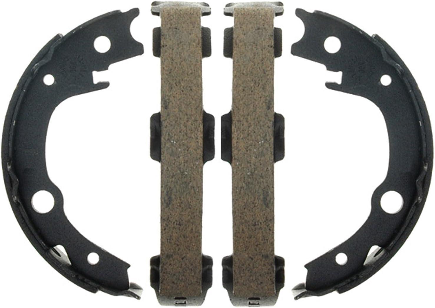ACDelco 17932B Professional Bonded Rear Parking Brake Shoe Set