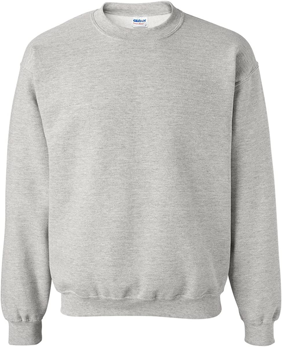 Gildan Men/'s Fleece Crewneck Sweatshirt Sport Grey Large