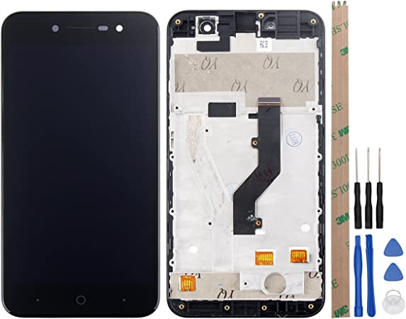 hyyt LCD Display + pantalla táctil digitalizador para ZTE Blade A520 libre de con herramientas (Negro + marco): Amazon.es: Electrónica