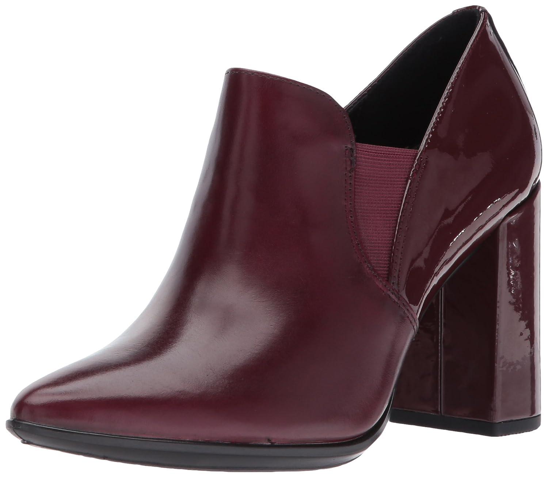 ECCO Women's Women's Shape 75 Pointy Block Slip on Dress Pump B01M68KR59 36 EU / 5-5.5 US|Morello/Bordeaux