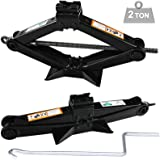 High Quality Scissor Lift Jacks for Car - Crank Speed Handle 2 Tonne Car Van Wind Up Handle Scissor Jack Lift