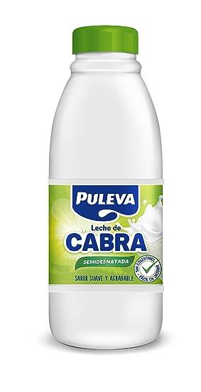 Puleva - Leche de Cabra Semidesnatada, Botella, 1 L