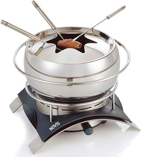 Novis 6014.21 – Juego de fondue Inox con hornillo